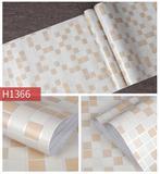 Papel Adesivo Contact De Parede Pastilhas Bege 45 Cm X 5 Metros - Filipack adesivos