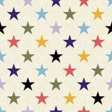 Papel de Parede Estrelas Coloridas - Qcola