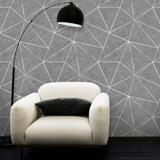 Papel de Parede Zara Urban Cinza - Inove papéis de parede