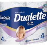 Papel Higiênico Duallete Decorado Folha Dupla 30m C/ 4 Rolos