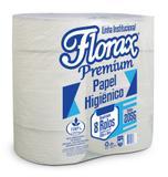Papel Higiênico Rolão Florax Premium Fardo 8 Rolos 500m - Claramax