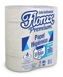 Papel Rolão Florax Premium Fardo 8 Rolos 300m - Claramax