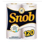 Papel Toalha Branco Cozinha C/2 UN Snob