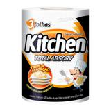 Papel toalha folha tripla kitchen 100 folhas - Softys