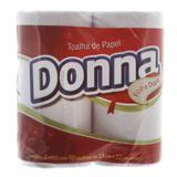 Papel Toalha Pacote com 2 Rolos Donna
