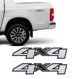 Par Adesivos 4x4 S10 Ltz High Country Blazer 13/19 Escovado - Sportinox