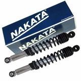 Par de Amortecedor Traseiro Biz 100 125 Pop 100 Nakata
