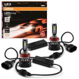 Par Lâmpadas LED Osram LEDriving H11 6000K 25W 12V Tonalidade Branca Aplicação Farol