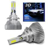Par Lâmpadas Super LED 3D HB4 9006 6000K 32W 12V 24V 7200 Lúmens Luz Branca Carro Moto Caminhão - Prime