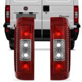 Par Lanterna Traseira Ducato Boxer Jumper 02 03 04 05 06 07 08 09 10 11 12 13 14 Bicolor - Prime