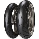 Par Pneu Cbx 250 Twister Fazer 250 140/60r17 + 100/80r17 Tl M5 Metzeler