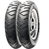 Par Pneu Honda Lead 110 Elite 125 90/90-12 + 100/90-10 Tl Sl26 Pirelli - Pirelli moto
