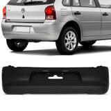 Parachoque Traseiro Volkswagen Gol G4 2006 a 2008 Preto Liso - Dts