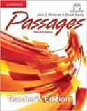 Passages 1 - teacher's edition with assessment audio cd/ cd-rom - third edition - Cambridge university press do brasil