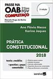 Passe na OAB 2ª fase FGV  Prática Constitucional - Somos educação
