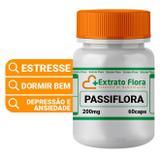 Passiflora 200mg 60 Cápsulas Maracujá - Extrato flora