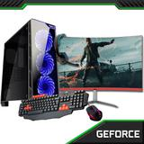 PC Gamer completo com Monitor Curvo 23.8 Concordia Amd Fx 8300 8GB HD 1TB  Placa de Vídeo GTX 1050 2GB - Concórdia