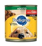 Pedigree Lata Carne Ao Molho para Cães Adultos- 290g