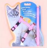 Peitoral + Guia Gato Kimhome - Pet import