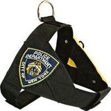 Peitoral  Security Policia Ny + Guia Nylon N.1 - Amf pet