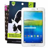 "Película Nano Premium Para Tablet Galaxy Tab3 7"" / Tab E 7"" SM- T110 / T111 / T113 / T116 - Most"