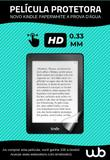 Película Novo Kindle Paperwhite Wb Fosca Anti-Risco Anti-Poeira Anti-Uv