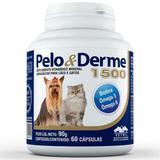 Pelo e Derme 1500 - 60/Cápsulas - Vetnil