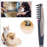 Pente elétrico desembolador pelos gatos cães pet - Western pet