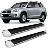 Perfil Estribo Aluminio Preto Rav4 Até 2012 Crv 05 A 12 - Ck