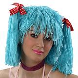 Peruca Boneca - Azul - Carnaval