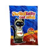 Petisco Delicibife Cat Stick Palito Carne 20G - Deliciosso