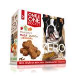 Petisco Mini Snack Zero Spin Pet Maça, Quinoa e Abóbora Cães 50g