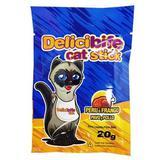 Petisco Palitinho Delicibife Cat Stick Peru e Frango 20G - Deliciosso