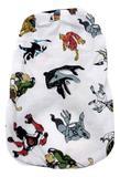 Pijama de cachorro Estampa Ben 10  branca  Tamanho GG - Nica pet
