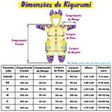 Pijama Kigurumi Esqueleto - Fantasia de unicórnio
