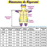 Pijama Kigurumi Fantasia Cosplay do Coelho Rosa Com Capuz - Fantasia de unicórnio