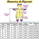 Pijama Kigurumi Panda Estrelinha - Fantasia de unicórnio