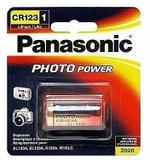 Pilha 3v Cr123a - Lithium Photo - 5 Baterias - Lacrado - Panasonic