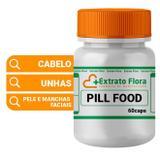 Pill Food 60 Cápsulas - Extrato flora