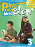 Ping pong kids star ed.students book w/multi-rom/web code-3 - Macmillan
