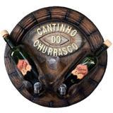 Pingometro - tampa de barril - cantinho do churrasco - Retrofenna