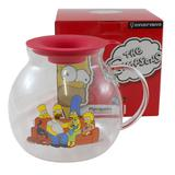 Pipoqueira Simpsons De Microondas De Vidro 10022495 - Zona criativa
