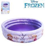 Piscina Infantil Disney Frozen 3 Anéis 115 Litros - Etitoys