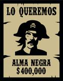 Placa Alma Negra - Geek10