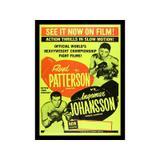 Placa Boxe Patterson  Johansson Pequena - All classics
