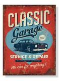 Placa Classic Garage - Tecnolaser