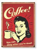 Placa Coffee You Can - Tecnolaser