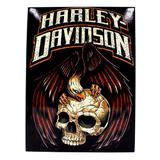 PLACA DE METAL 26x19 HARLEY DAVIDSON 10081584 - Zona criativa