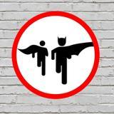 Placa De Parede Decorativa: Bat Run - ShopB - Nc games