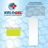 Placa de silicone para queimados e cicatrizes 10x30cm kelogel